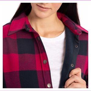 Orvis Ladies Fleece Lined Shirt Jacket